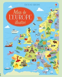 Atlas de l'Europe illustré - Jonathan Melmoth |