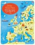 Jonathan Melmoth - Sticker picture atlas of Europe.