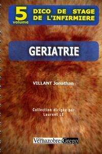 Jonathan Villant - Gériatrie.