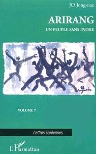 Jong-nae Jo - Arirang Tome 9 : Un peuple sans patrie.