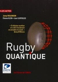 Jonny Wilkinson et Etienne Klein - Rugby quantique.