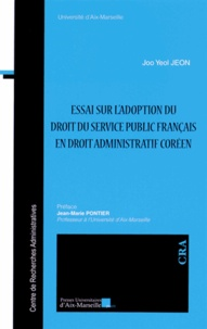 Birrascarampola.it Essai sur l'adoption du droit du service public français en droit administratif coréen Image