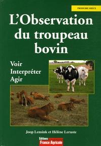 L'Observation du troupeau bovin- Voir, interpréter, agir - Joop Lensink | Showmesound.org