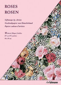 Joost Elffers - Roses - Papiers cadeau d'artistes (10 feuilles).