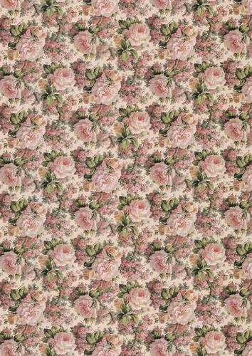 Roses. Papiers cadeau d'artistes (10 feuilles)