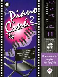 Jorane Cambier - Piano Ciné 2 - 10 musiques de films adaptées pour Piano Solo. 1 CD audio