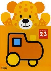 Jordi Busquets - Coloriage 2-3 ans - Orange.