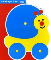 """Jordi Busquets - Coloriage 2 ans """"Mon petit jouet"""" - Escargot."""