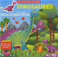 Jordi Busquets - Dinosaures - Les grands brachiosaurus - Un album avec des dinosaures à monter !.
