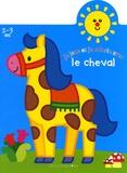 Jordi Busquets - Je joue et je colorie avec le cheval - 2-3 Ans.