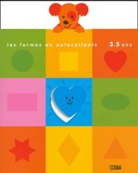 Jordi Busquets - Les formes en autocollants - 3 à 5 ans.