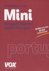 Jordi Indurain - Mini Diccionario bilingüe - Português-Espanhol, Espanol-Portugués.