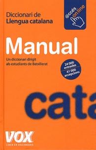 Jordi Indurain Pons - Diccionari manual de Llengua catalana.