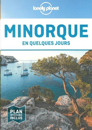 Jordi Monner Faura - Minorque en quelques jours. 1 Plan détachable