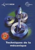 Jörg Bartenschlager et Josef Dillinger - Techniques de la mécanique. 1 Cédérom