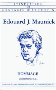Jorge Amado et Camille Amouro - Edouard J. Maunick - Hommage.