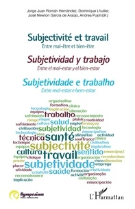 Jorge Juan Roman Hernandez et Dominique Lhuilier - Subjectivité et travail - Entre mal-être et bien-être.