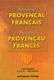 Jorgi Fettuciari et Guiu Martin - Dictionnaire provençal-français : Diccionari provençau-francès - L'Escomessa Creo-Provença (Section régionale de l'IEO).