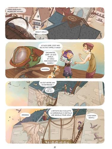 Enola et les animaux extraordinaires Tome 1 La gargouille qui partait en vadrouille