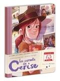 Joris Chamblain et Aurélie Neyret - Les carnets de Cerise - Pack 3 cahiers : petits carreaux ; grands carreaux ; pages blanches.