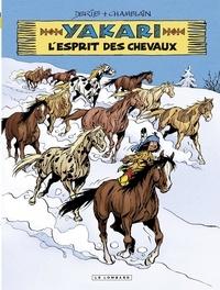 Joris Chamblain et  Derib - Yakari - tome 40 - L'Esprit des chevaux.