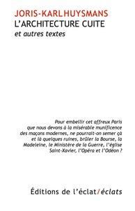 Larchitecture cuite - Et autres essais.pdf