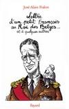 José-Alain Fralon - Lettre ouverte d'un petit Français au Roi des Belges... et à quelques autres.