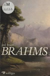 José Bruyr et  Albertina - Brahms.