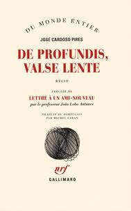 Checkpointfrance.fr De profundis, Valse lente - Précédé de Lettre à un ami-nouveau Image