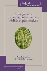 José Carlos Herreras Garcia - L'enseignement de l'espagnol en France : réalités et perspectives.