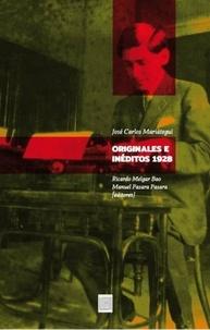 José Carlos Mariategui et Manuel Pásara Pásara - Originales e inéditos, 1928.
