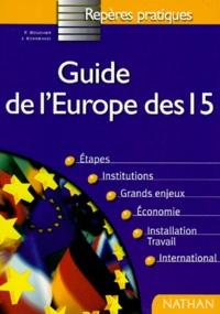 José Echkenazi et François Boucher - Guide de l'Europe des 15.