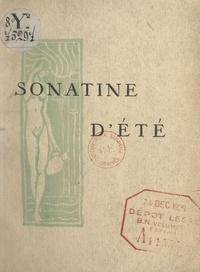 José Ferba et Lucien Coutaud - Sonatine d'été.