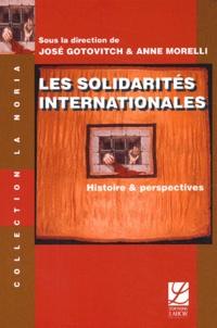 Histoiresdenlire.be Les Solidarités internationales - Histoire et perspectives Image