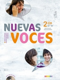 José Inzaurralde et Stéphane Anorga - Espagnol 2e Nuevas Voces - A2-B1. 1 CD audio