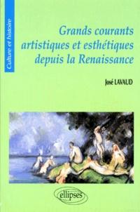 José Lavaud - Grands courants artistiques et esthétiques depuis la Renaissance.