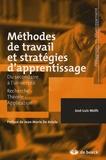 José-Luis Wolfs - Méthodes de travail et stratégies d'apprentissage.