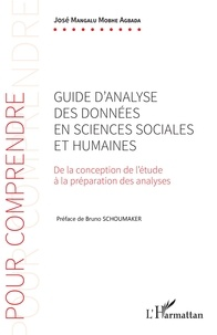 José Mangalu Mobhe Agbada - Guide d'analyse des données en sciences sociales et humaines - De la conception de l'étude à la préparation des analyses.