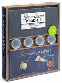 José Maréchal - Les ardoises à table ! - 26 recettes salées et sucrées.