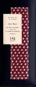José Marti - Les Deux rossignols suivi de La Crevette enchantée - 2 volumes.