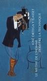 """José Ortega y Gasset - Le mythe de l'homme derrière la technique - Suivi de Autour du """"colloque de Darmstadt, 1951""""."""