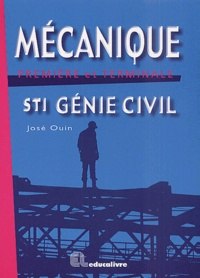 Mécanique Première et Terminale STI Génie civil - José Ouin | Showmesound.org