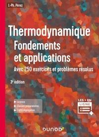 Téléchargement gratuit de livres audio mp3 en ligne Thermodynamique  - Fondements et applications, avec 250 exercices et problèmes résolus 9782100810888