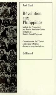 José Rizal - Révolution aux Philippines.
