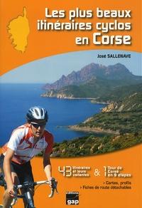 Les plus beaux itinéraires cyclos en Corse- 43 itinéraires et 1 tour de Corse en 9 étapes - José Sallenave pdf epub