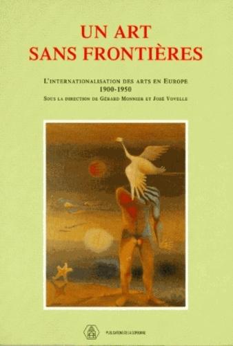 Un art sans frontières. L'internationalisation des arts en Europe, 1900-1950, Colloque international, Centre Malher, 23-24 octobre 1992
