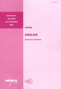 Galabria.be CAPES Anglais - Concours interne Image
