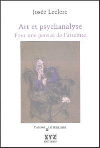 Ucareoutplacement.be Art et psychanalyse - Pour une pensée de l'atteinte Image