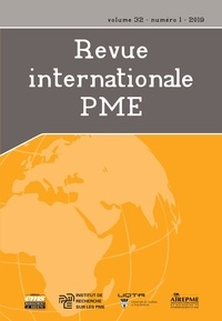 Josée St-Pierre et Maripier Tremblay - Revue internationale P.M.E.  : Revue internationale P.M.E.. Vol. 32 No. 1,  2019.