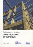 Joséfa Pricoupenko et Yves Saint-Jours - Guide raisonné de la construction écologique.